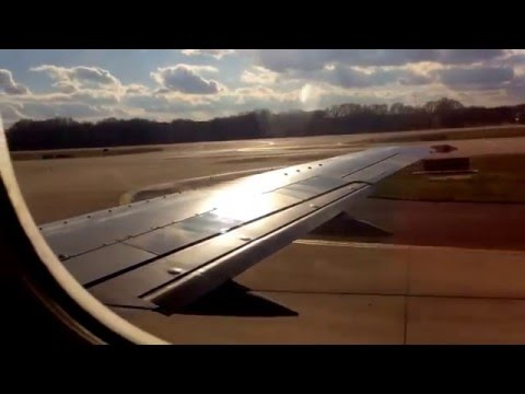 Southwest 737-3H4W Takeoff from Memphis International Airport (KMEM) to Houston