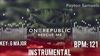 OneRepublic - Rescue Me (Instrumental)