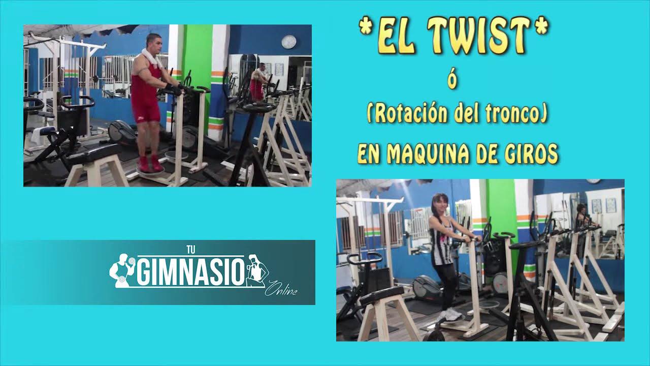 Reducir Cintura Twist ó Rotacion Del Tronco En Maquina De Giros