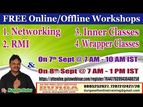 free-online/offline-workshops-in-durgasoft