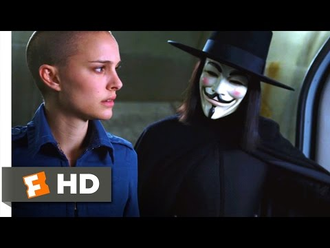 V for Vendetta (2005) - My Gift to You Scene (7/8) | Movieclips