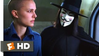 Gambar cover V for Vendetta (2005) - My Gift to You Scene (7/8) | Movieclips