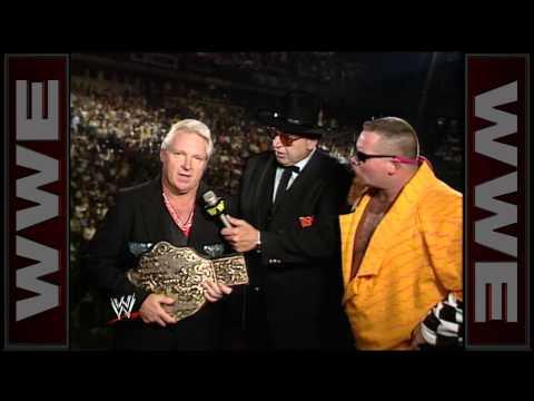 Bobby Heenan debuts the NWA World Heavyweight Championship on WWE programming: Wrestling Challenge,