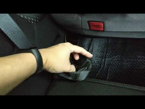 How To Setup The Centre Seatbelt On The Rear Seat Of OUTLANDER