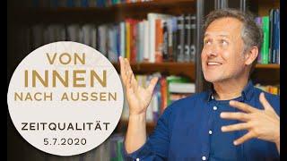 VON INNEN NACH AUSSEN - Zeitqualität um den 5.7. - Vollmond im Steinbock