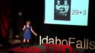 Love is Greater Than Fear | Michelle Ziel-Dingman | TEDxIdahoFalls