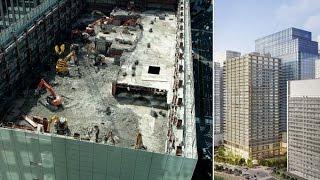 大手町の大型複合ビル起工式 三井物産本社やホテル