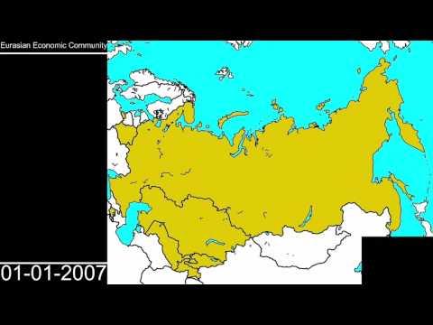 History of the Eurasian Union!!!