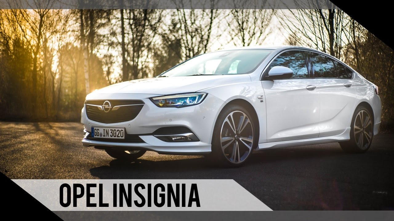 opel insignia 2017 test review fahrbericht motorwoche youtube. Black Bedroom Furniture Sets. Home Design Ideas