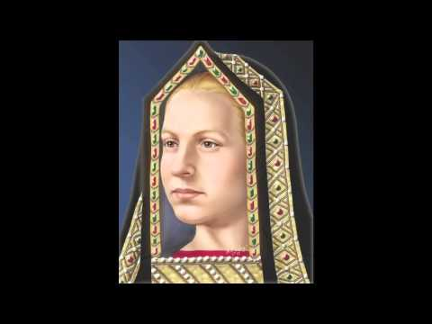 The Face of Elizabeth of York (Artistic Reconstruction)