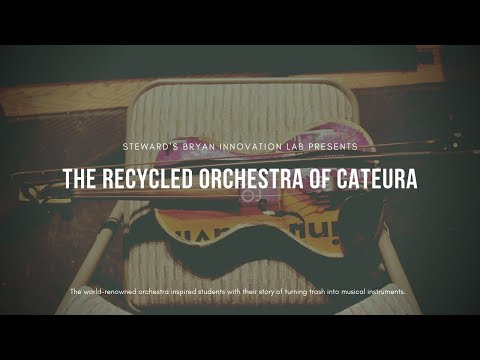 The Recycled Orchestra of Catuera Visits The Steward School