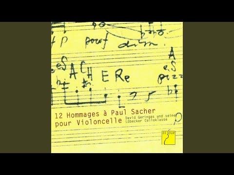 3 Strophes Sur Le Nom De Sacher: No. 1. Un Poco Indeciso