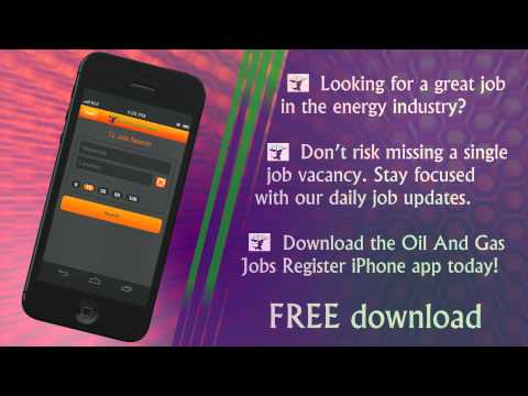 Oil and Gas Jobs iPhone app