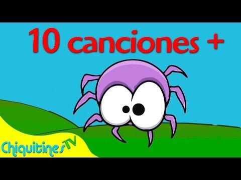 Witzy witzy araña y 10 Canciones Más - Canciones Infantiles