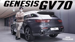 [Edited] 2022 Genesis GV70 First Look! - This is why we should be excited about this new Genesis SUV