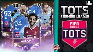 FIFA MOBILE 18 Confirmed Premier League Team of The Season #FIFAMOBILE TOTS News & Updates