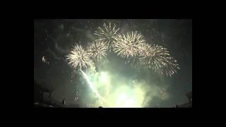 20120128台南市永華市政中心戶外廣場法國Groupe F火劇團演出3/3