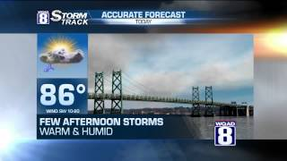 StormTrack 8 Midday Forecast July 20, 2015