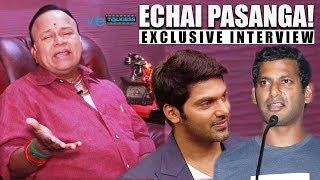 Vishal Nee AAMBALA ah da.. - Radha Ravi Bold Interview | Arya