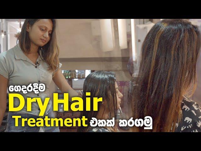 ගෙදරදීම Dry Hair Treatment එකක් කරගමු