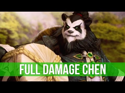 Heroes of the Storm: Full Damage Chen! (Gameplay)
