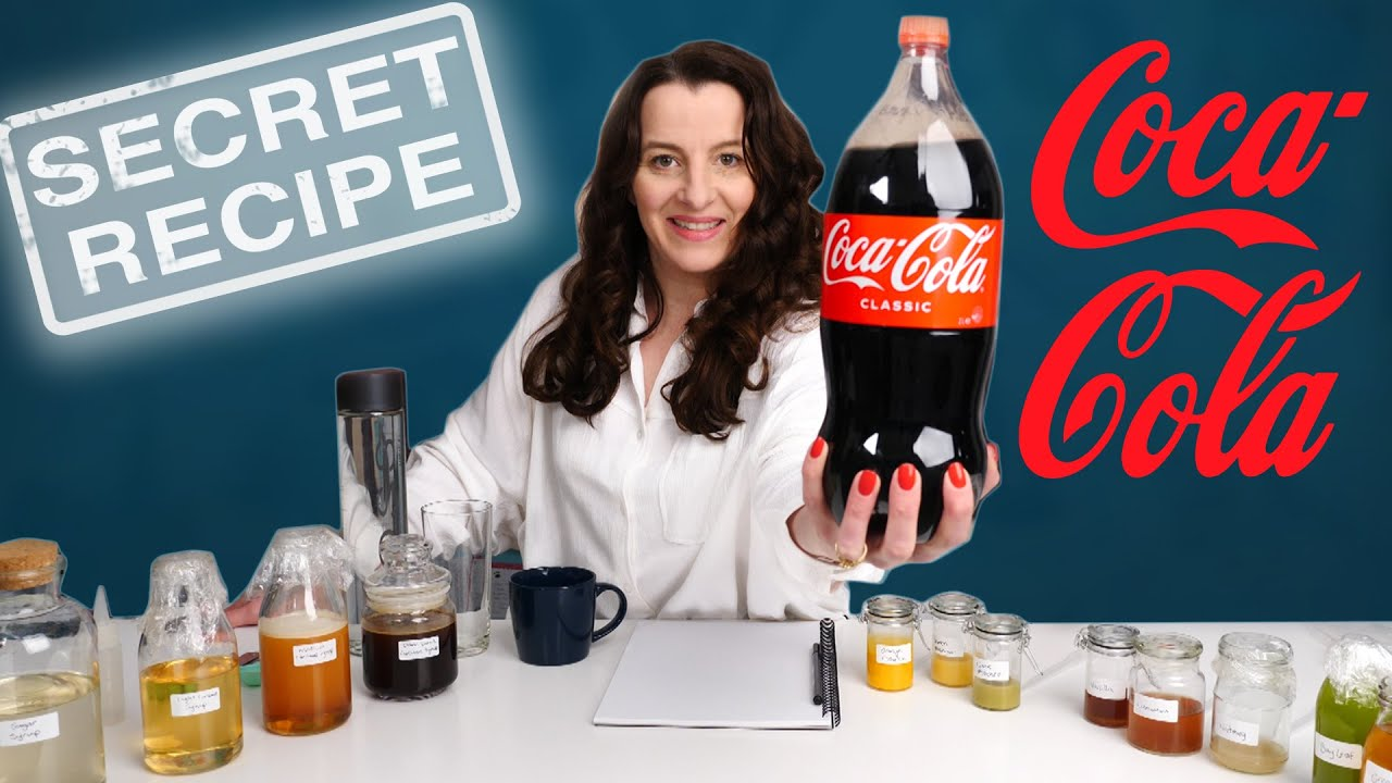 Discover the Coca Cola recipe secret     |  How To Cook That Ann Reardon