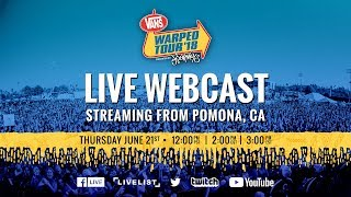 2018 vans warped tour webcast