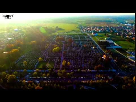 MR Drone Croatia - Varaždin cemetery, time lapse