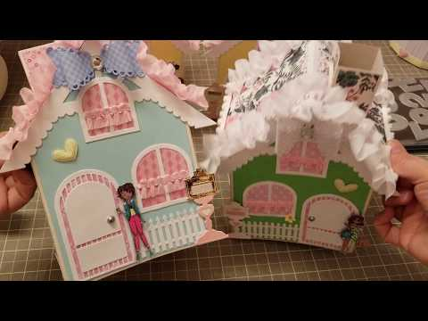 PROJECT SHARE - HOUSE TISSUE BOXES -KSCRAFT