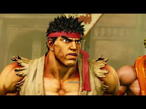 Street Fighter V General Story!! Acts 1 and 2!!