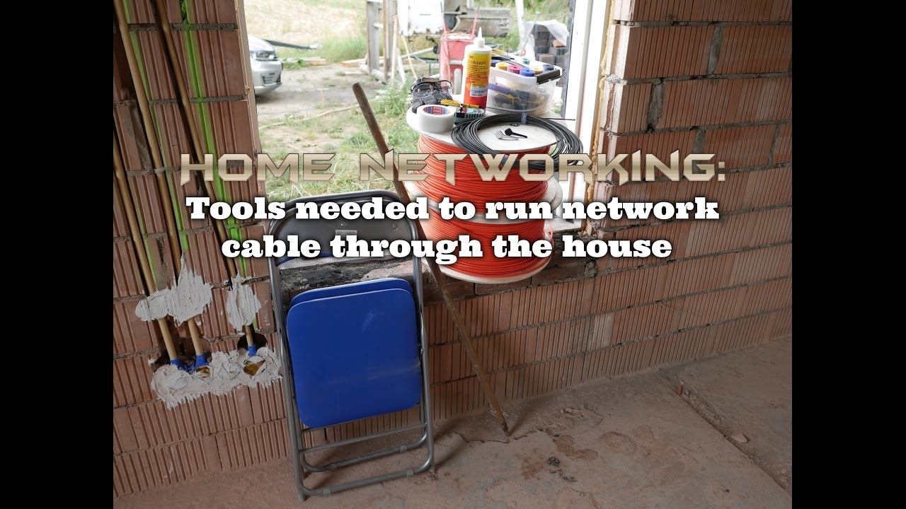 Home Networking Tools Needed To Run Network Cable Through The House Ethernet Wiring For Your