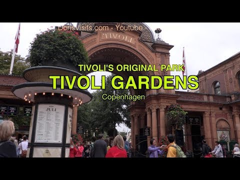 Tivoli Gardens Copenhagen a family full day out.