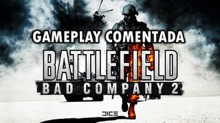 BATTLEFIELD BAD COMPANY 2 - GAMEPLAY COMENTADA