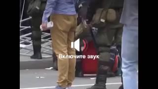 Митинг 12 июня : задержание под гимн