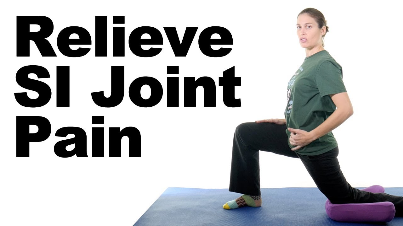 Top 7 SI Joint Pain Stretches & Exercises - Ask Doctor Jo