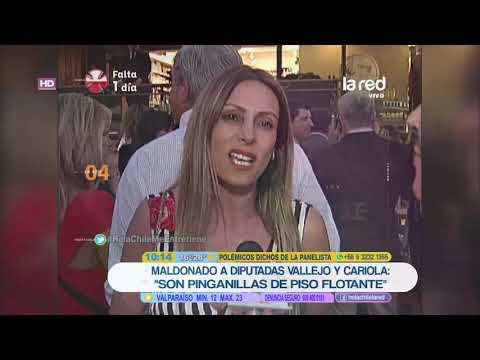 El severo ataque de Patricia Maldonado contra Camila Vallejo y Karol Cariola