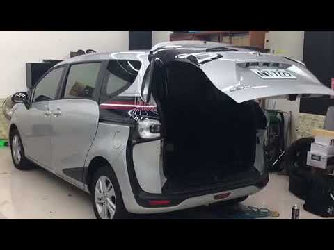 Toyota Sienta👉2016-2018 Installed Electronic Tailgate Lift,Vaccum Lock N Foot Sensor