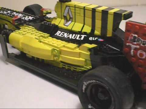 lego f1 renault r30 2010 presentation youtube. Black Bedroom Furniture Sets. Home Design Ideas