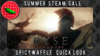 Historical Blood Dancing -- Steam Summer Sale 2015 (Ryse: Son of Rome) (GTX 980 ti 1080p 60fps)