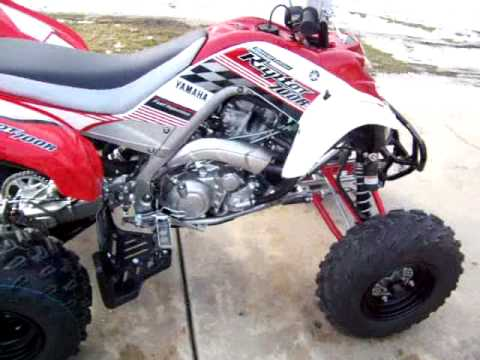 YAMAHA RAPTOR 700R SE 2008 - YouTube