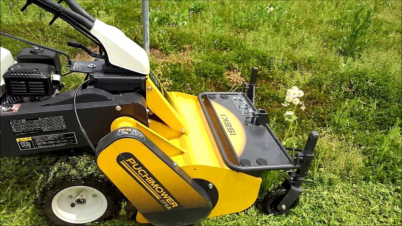 農業女子コラボ草刈機 プチもあ VRS500-W - YouTube