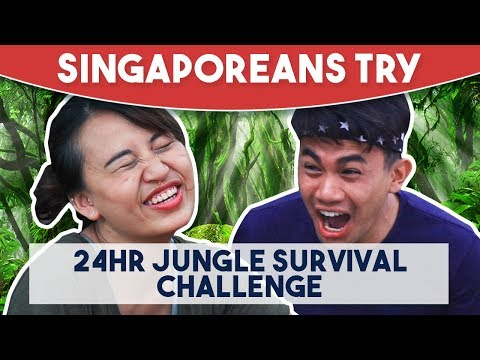 Singaporeans Try: 24 Hour Jungle Survival Challenge