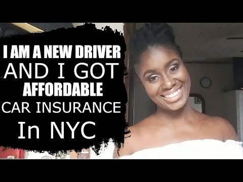 Cheap Car Insurance In NYC As A New Driver