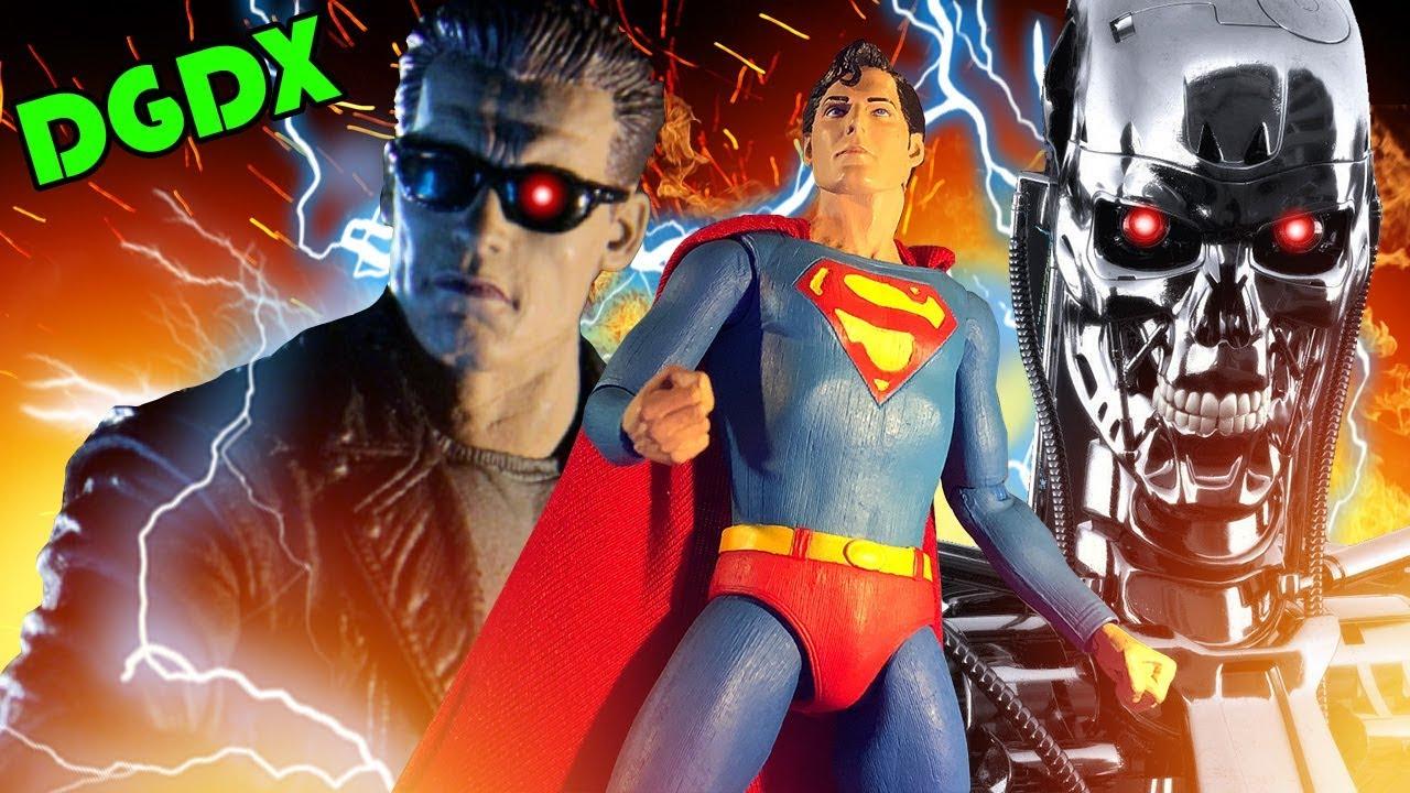 79025dc38 Superman VS Terminator 2 (Stop Motion) (Fan Film)  HD  - YouTube