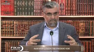 Kur'an'nın Çözüm Üretmedeki Yeri
