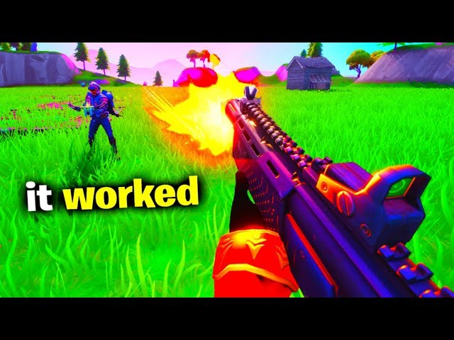 Fortnite has a 1ST PERSON mode..
