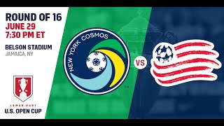New York Cosmos vs New England Revolution full match