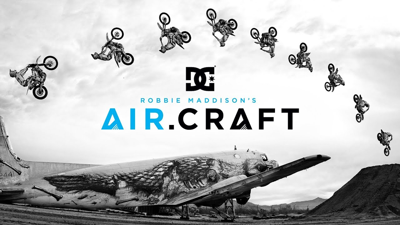 画像: DC SHOES: ROBBIE MADDISON'S AIR.CRAFT youtu.be