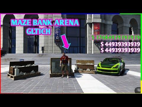 Gta 5 Maze Bank Arena Money Glitch  ( Unlimited Money In Minutes )