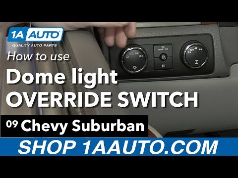 How To Replace The Dome Lights In A Chevy Tahoe Doovi
